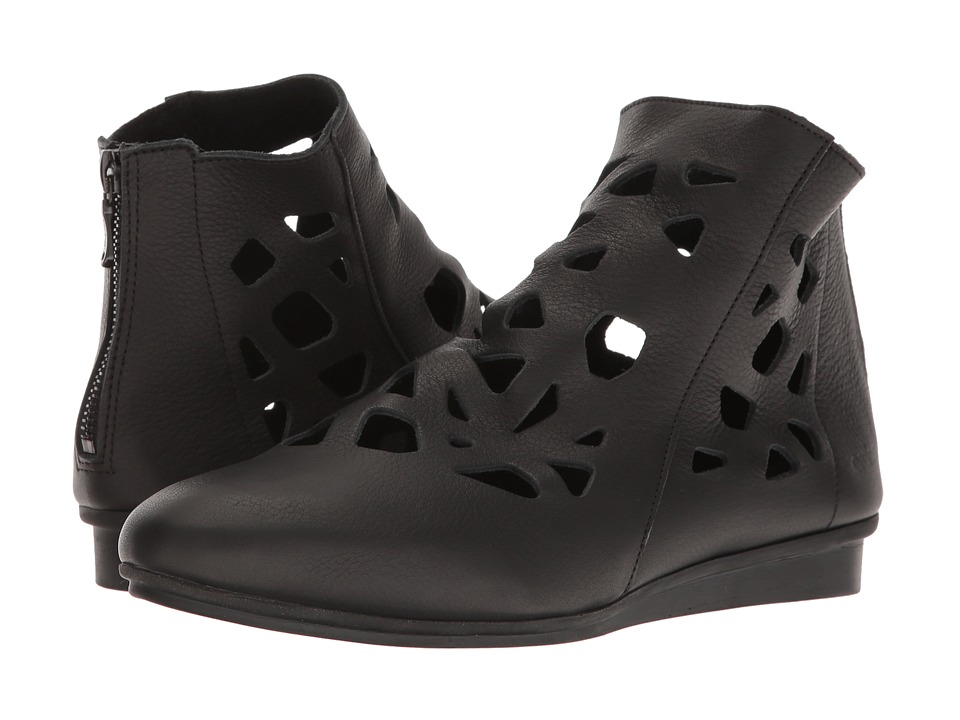 Arche - Ninate (Noir Vachette Fast) Women's Shoes