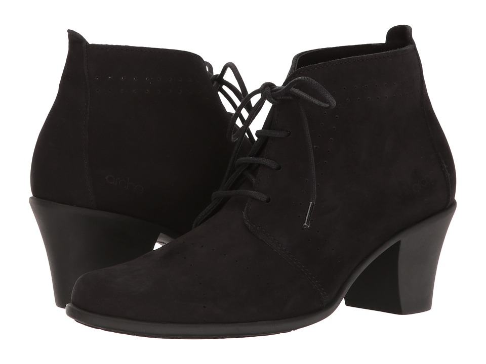 Arche - Maorem (Noir Nubuck) Women's Shoes