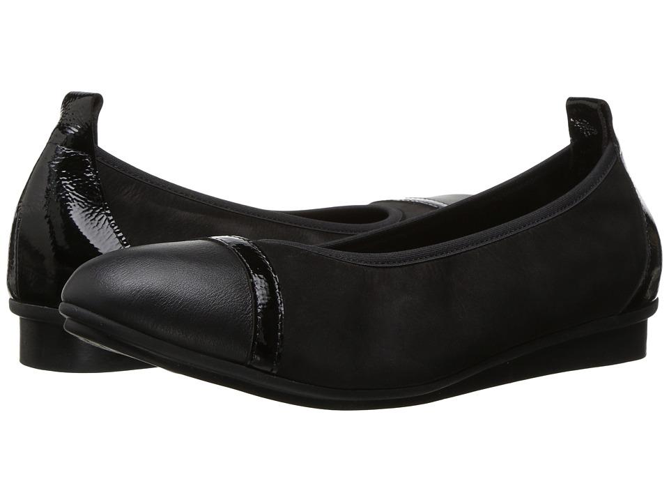 Arche - Ninour (Noir Naka/Lakli/Nubuck) Women's Shoes