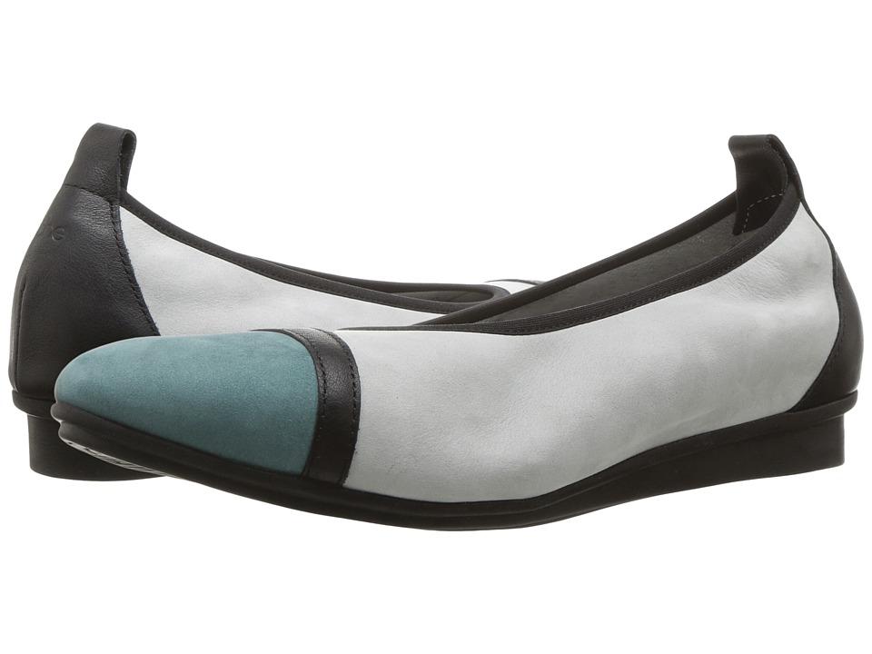 Arche - Ninour (Celadon/Noir/Brume Nubuck/Naka) Women's Shoes