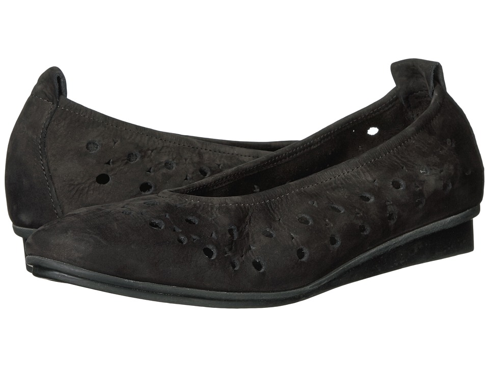 Arche - Nitya (Noir Nubuck) Women's Shoes