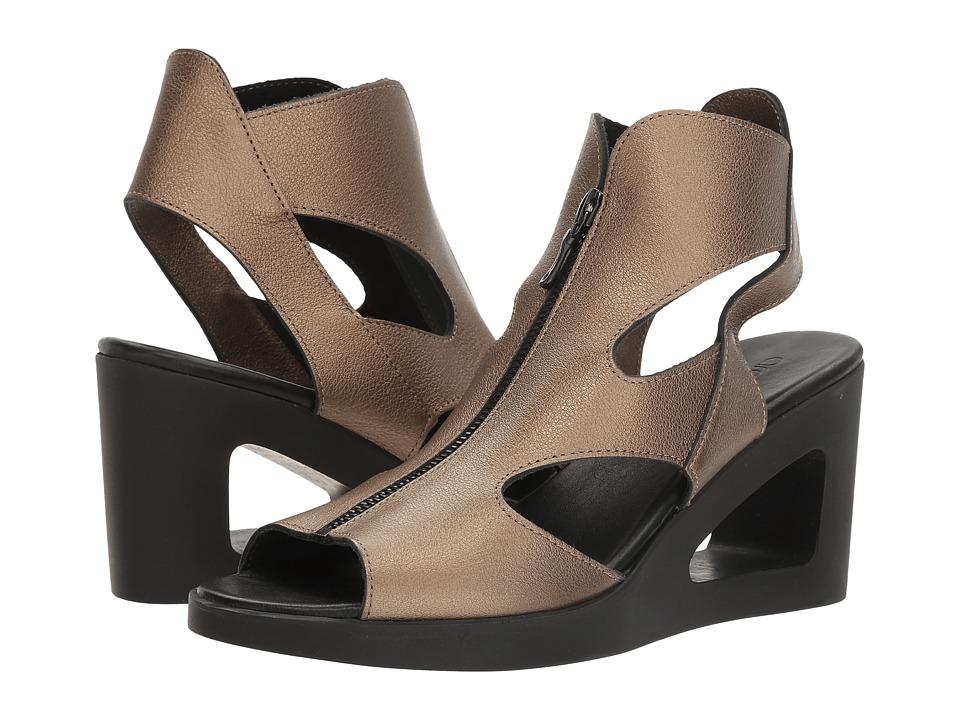 Arche - Vahiro (Moon/Noir Fast Metal) Women's Shoes