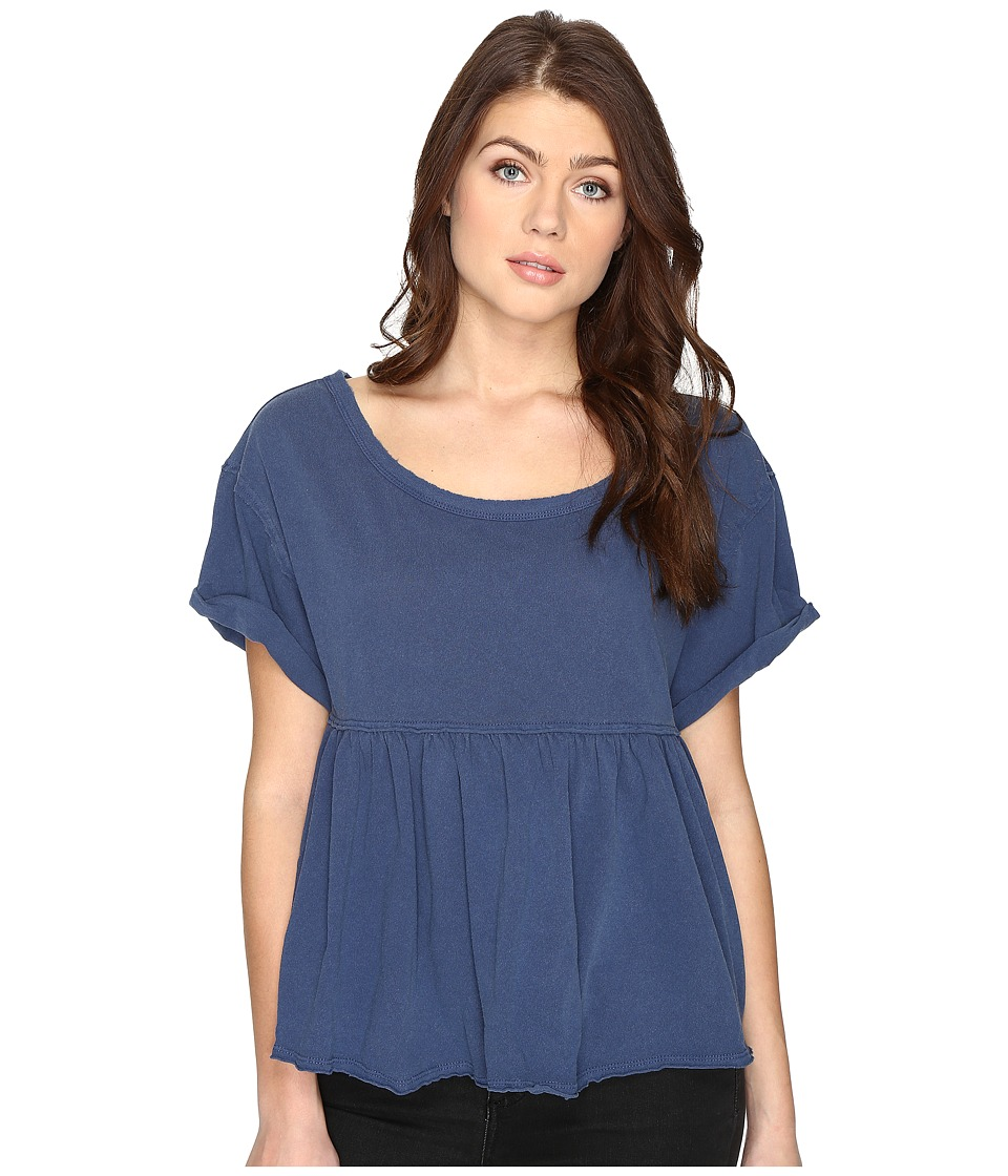 Free People - Odyssey Tee (Navy) Women's T Shirt