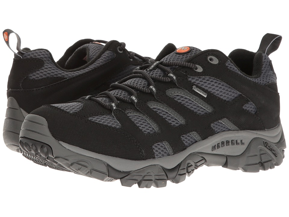 Merrell - Moab GTX (Black/Granite) Men's Shoes