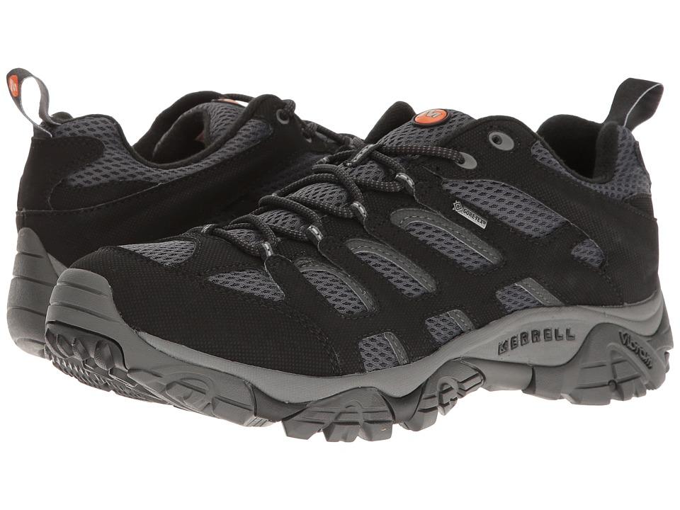 Merrell - Moab GTX (Black/Granite) Men's Shoes