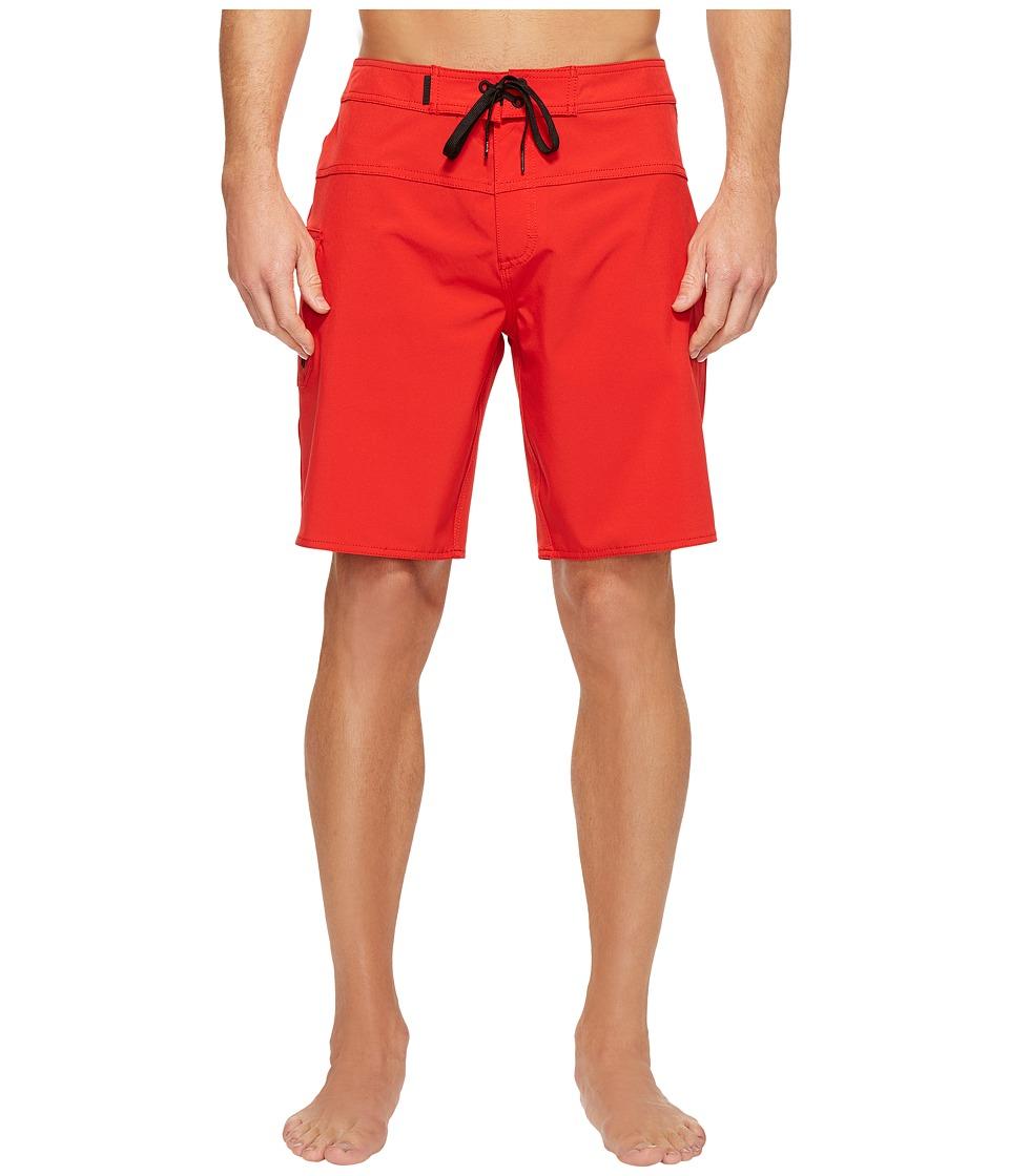 Tavik - Wexler Surf Boardshorts (Red) Men's Swimwear