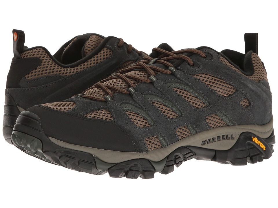 Merrell - Moab Ventilator (Carbon) Men's Lace up casual Shoes