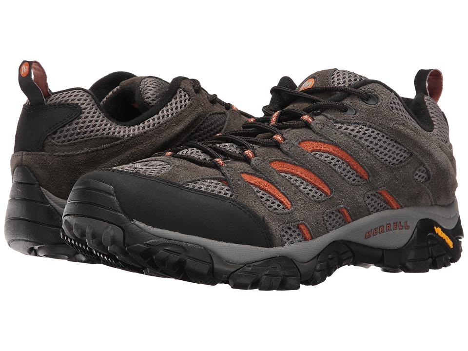 Merrell - Moab Ventilator (Beluga/Ginger) Men's Lace up casual Shoes