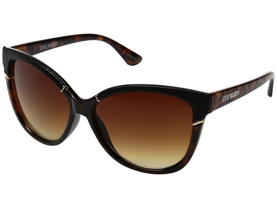 Steve Madden - Sarah (Brown) Fashion Sunglasses