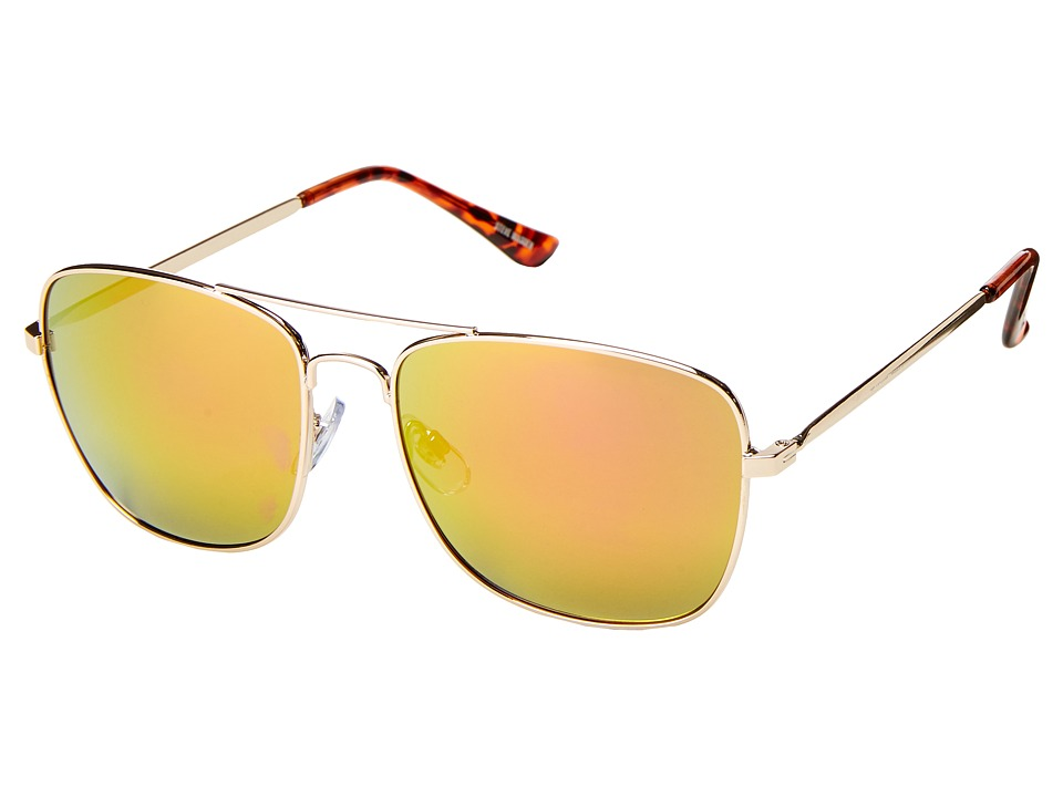 Steve Madden - Teddy (Gold) Fashion Sunglasses
