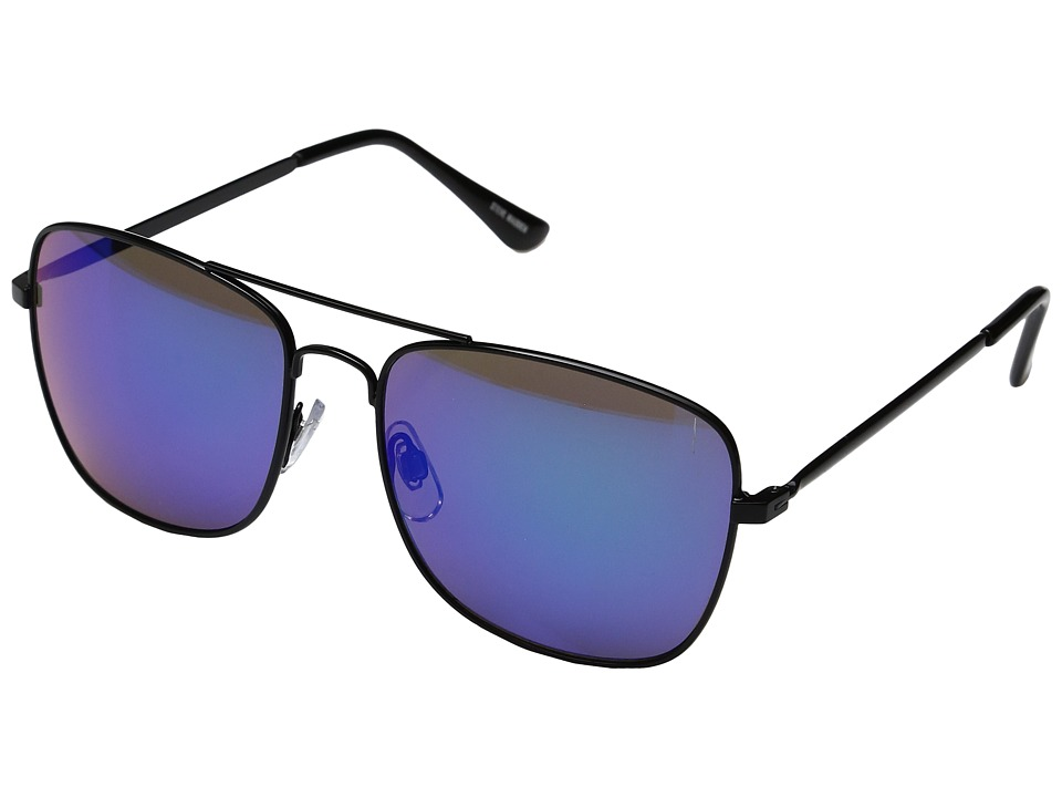 Steve Madden - Teddy (Black) Fashion Sunglasses