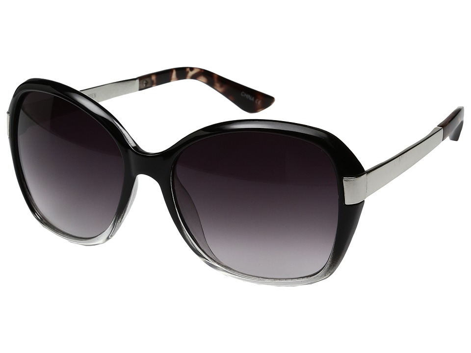 Steve Madden - Paulie (Black) Fashion Sunglasses