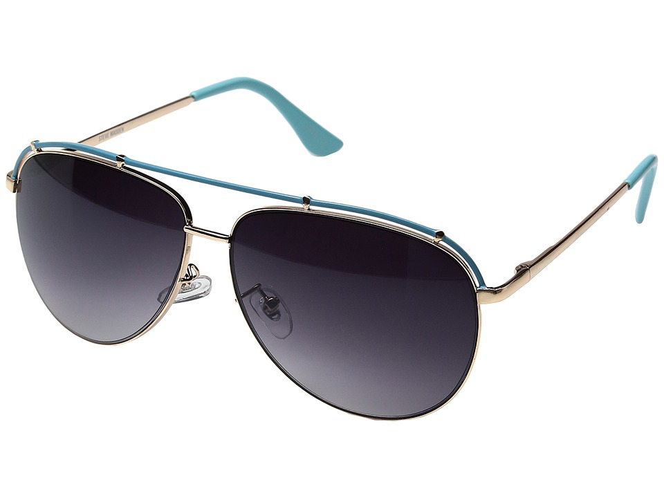 Steve Madden - Danielle (Blue) Fashion Sunglasses