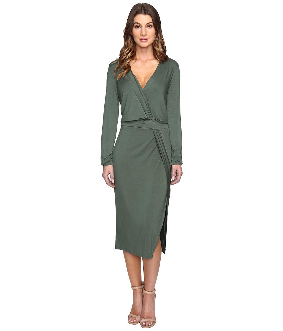 Young Fabulous & Broke - Mariah Dress (Hunter Green) Women's Dress