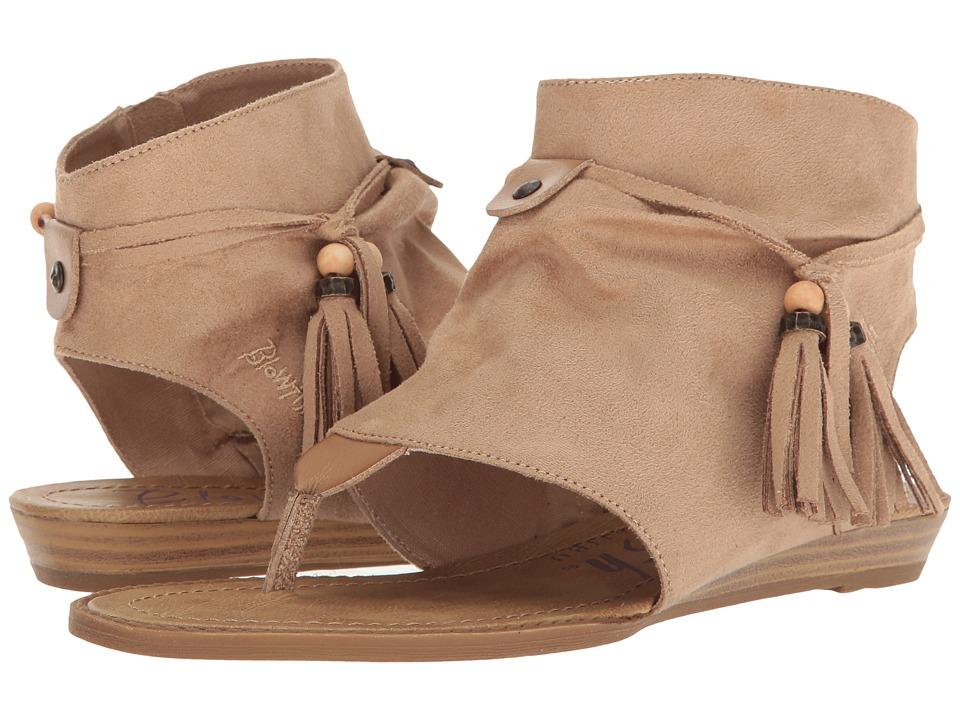 Blowfish - Brueke (Natural Micro Deluxe/Bark Dyecut PU) Women's Sandals