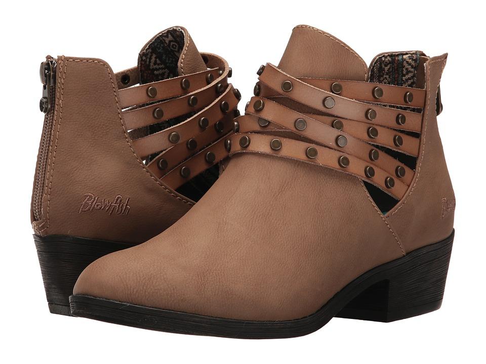 Blowfish - Sujan (Sand Old Mexico/Bark Dyecut PU) Women's Boots