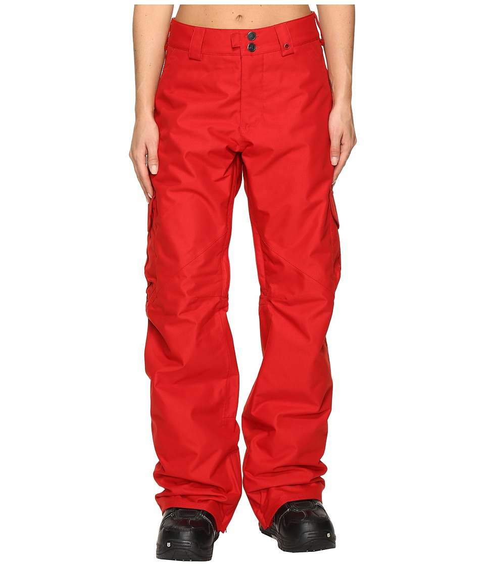 Burton - Cargo Pant (Process Red) Women's Clothing