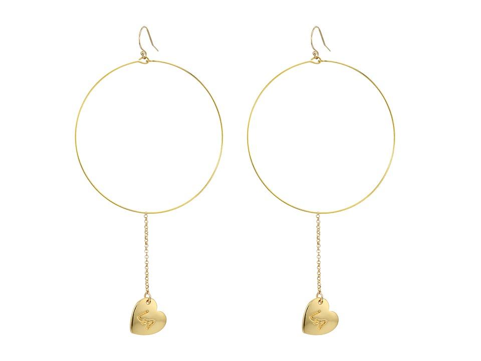 Vanessa Mooney - The LA Earrings (Gold) Earring