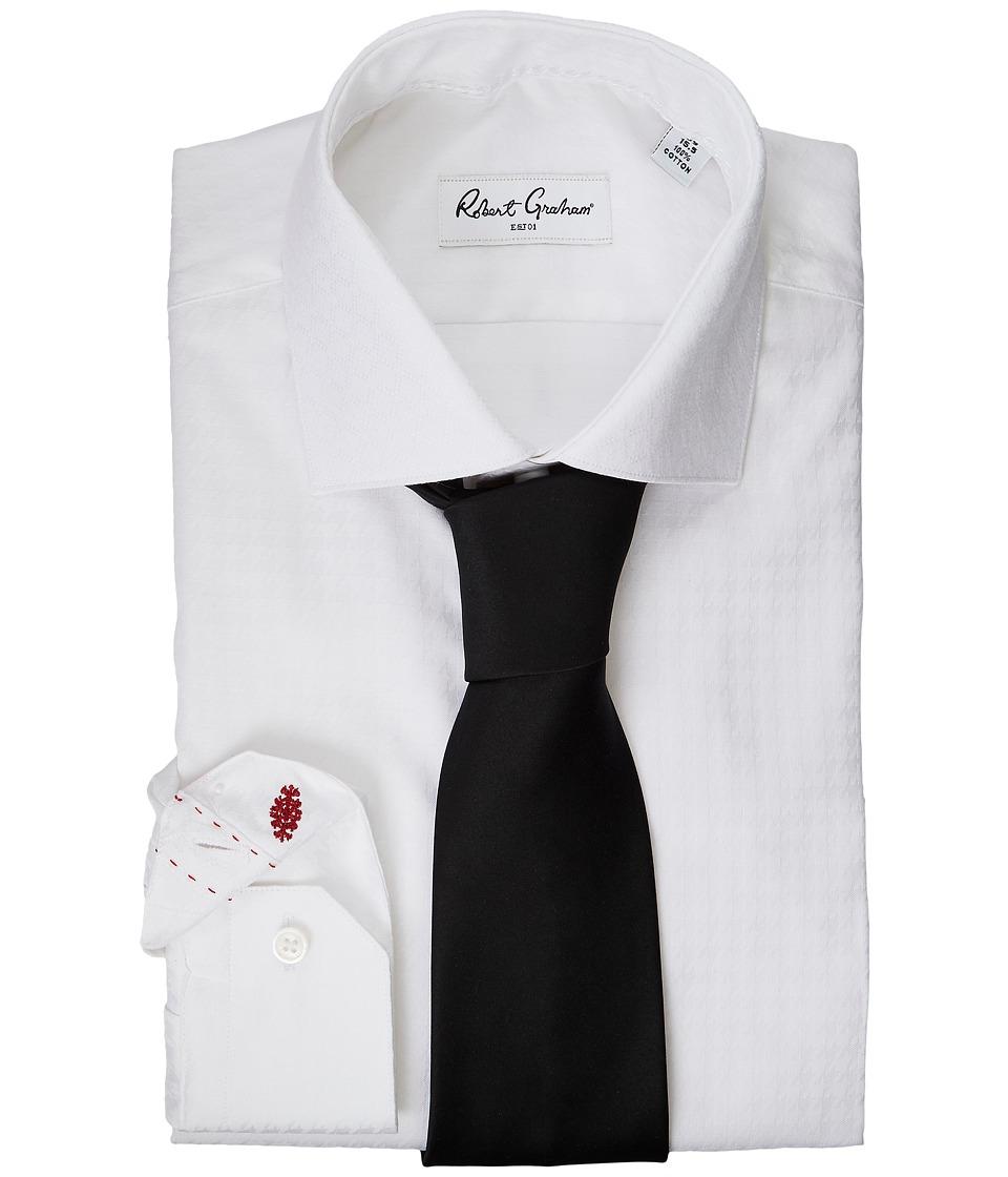 Robert Graham - Welby Dress Shirt (White) Men's Long Sleeve Button Up