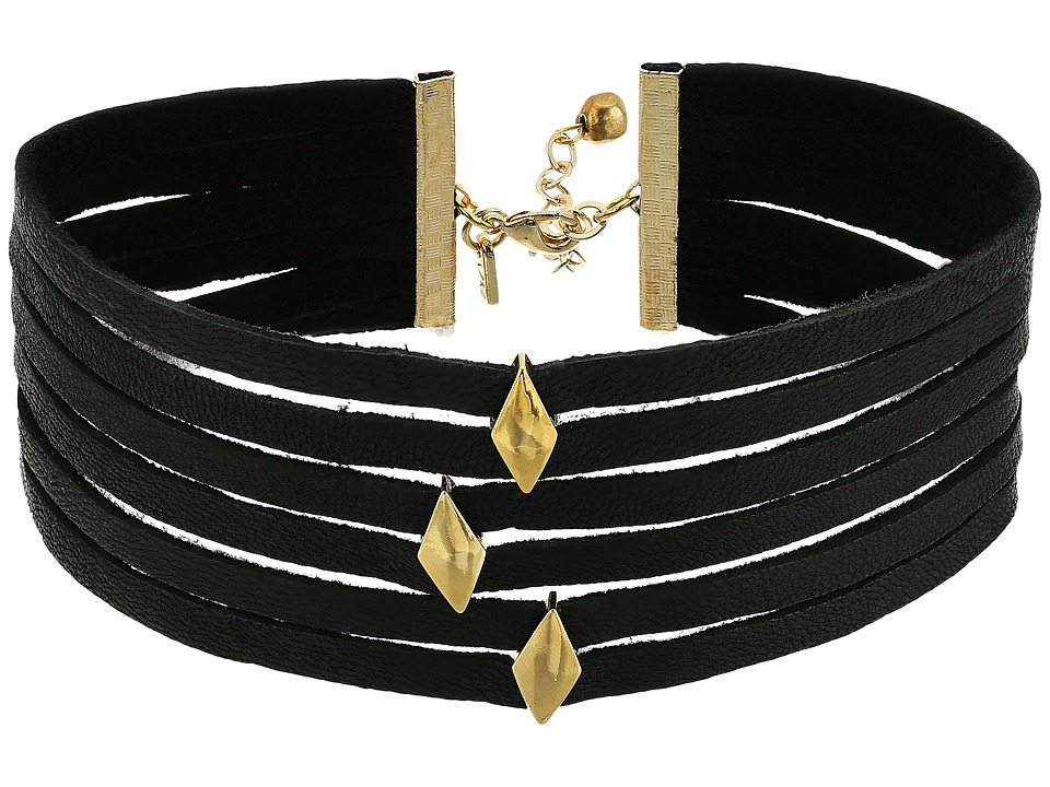 Vanessa Mooney - The Carlota Choker (Black) Necklace