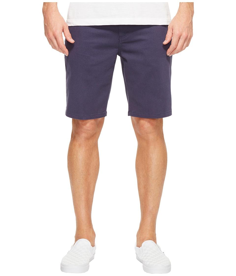 Tavik - Annex Shorts (Indigo) Men's Shorts