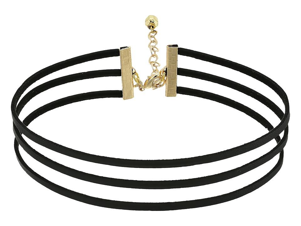 Vanessa Mooney - The Camilla Choker (Black) Necklace