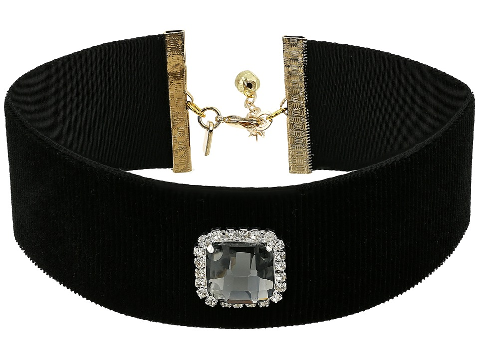 Vanessa Mooney - The Abela Choker (Black) Necklace