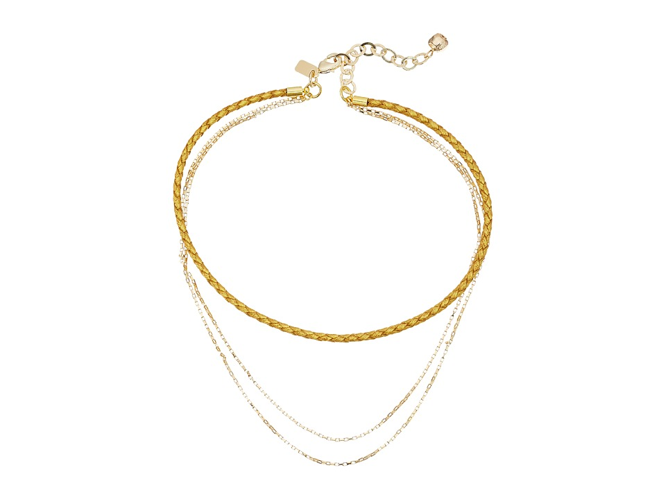 Vanessa Mooney - The Alene Choker (Gold) Necklace