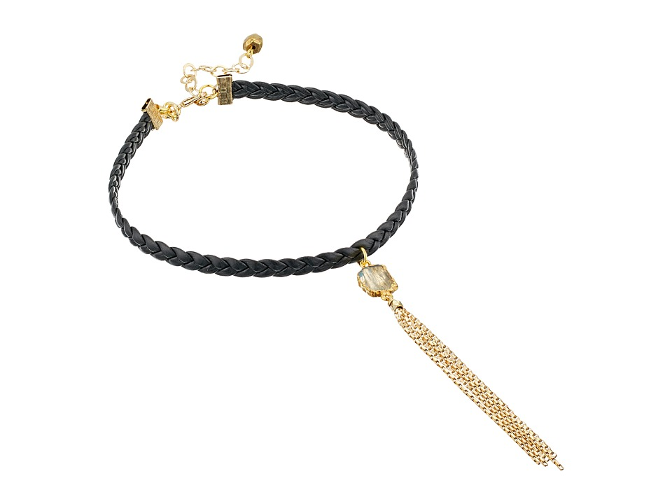 Vanessa Mooney - The Lykke Choker (Gold) Necklace
