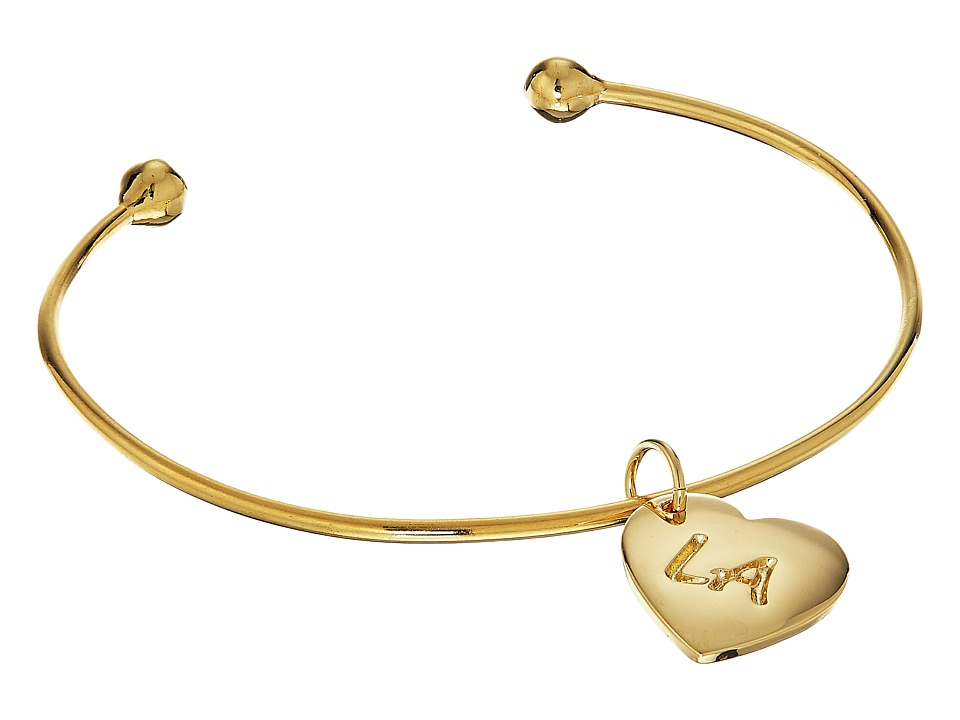 Vanessa Mooney - The LA Cuff Bracelet (Gold) Bracelet
