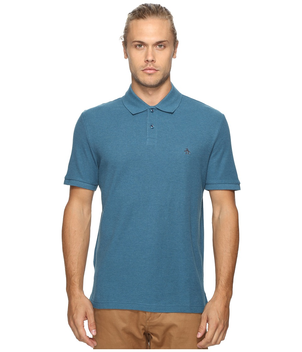 Original Penguin - Daddy-O Polo (Corsair) Men's Short Sleeve Pullover