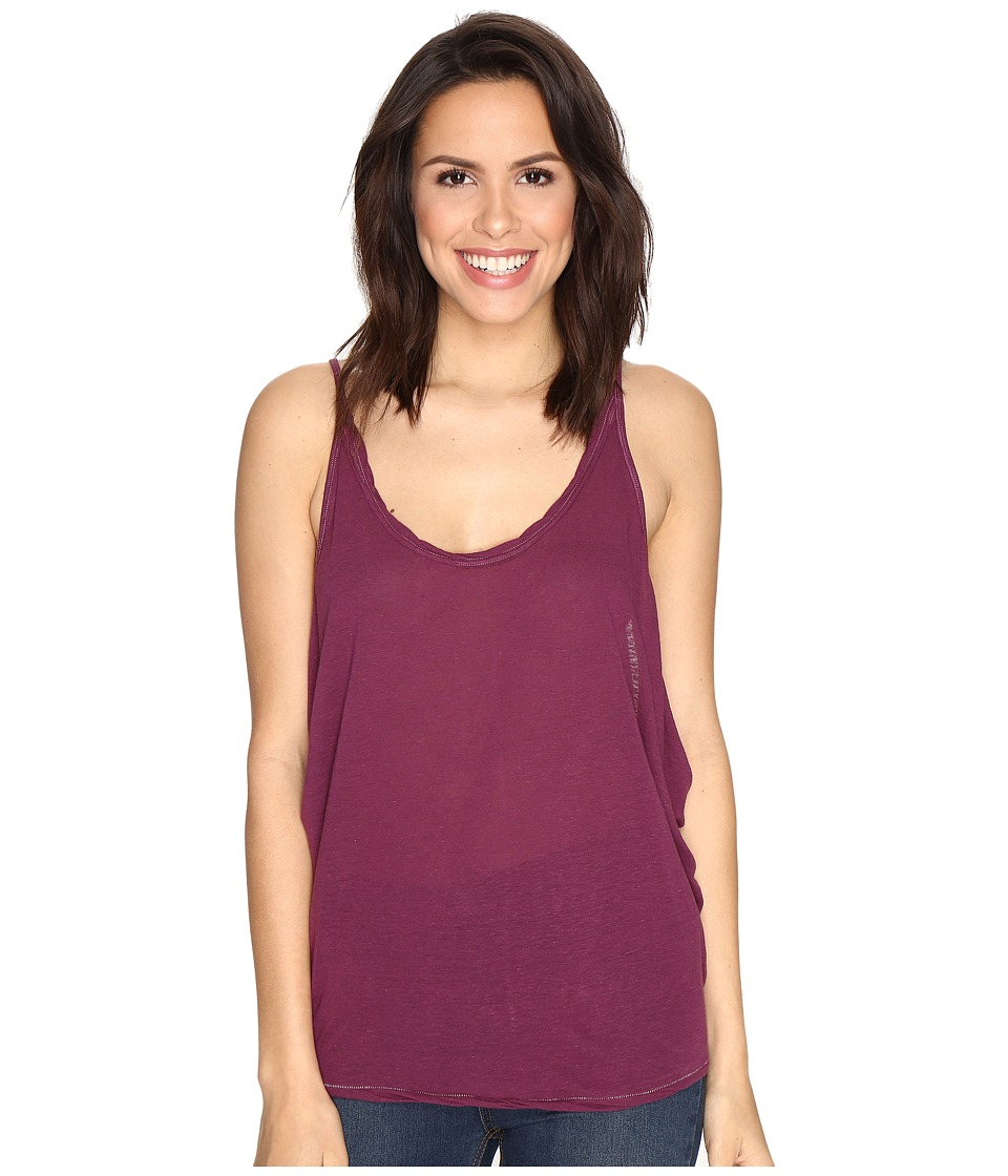 Free People - Sand Dollar Tank Top (Purple) Women's Sleeveless