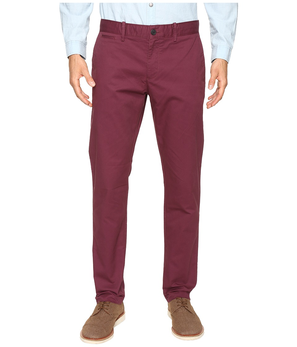 Original Penguin - P55 Slim Stretch Chino Pants (Mauve Wine) Men's Casual Pants