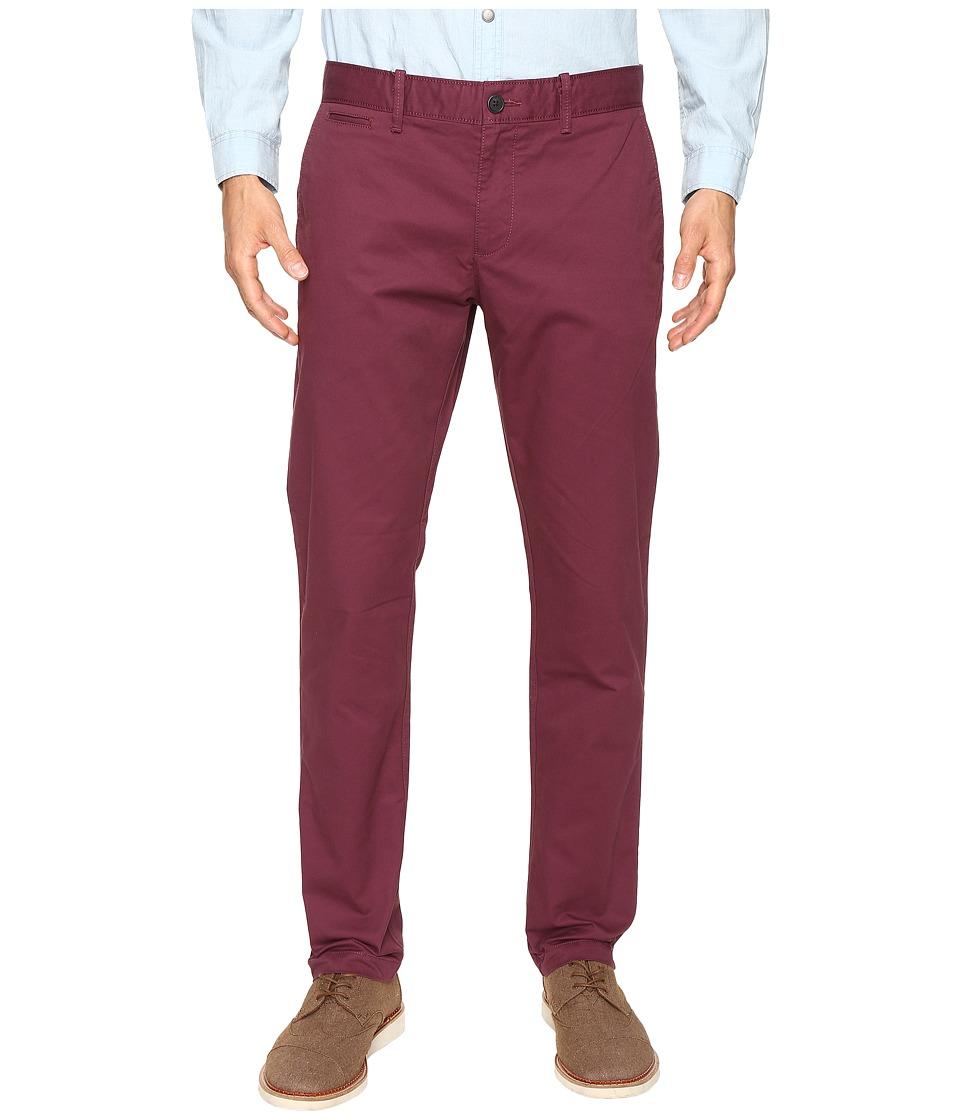 Original Penguin - P55 Slim Stretch Chino Pants (Mauve Wine) Men's Casual Pants
