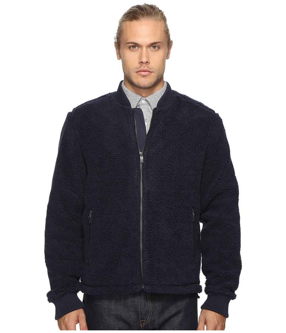 Original Penguin - Sherpa Bomber Jacket (Dark Sapphire) Men's Coat