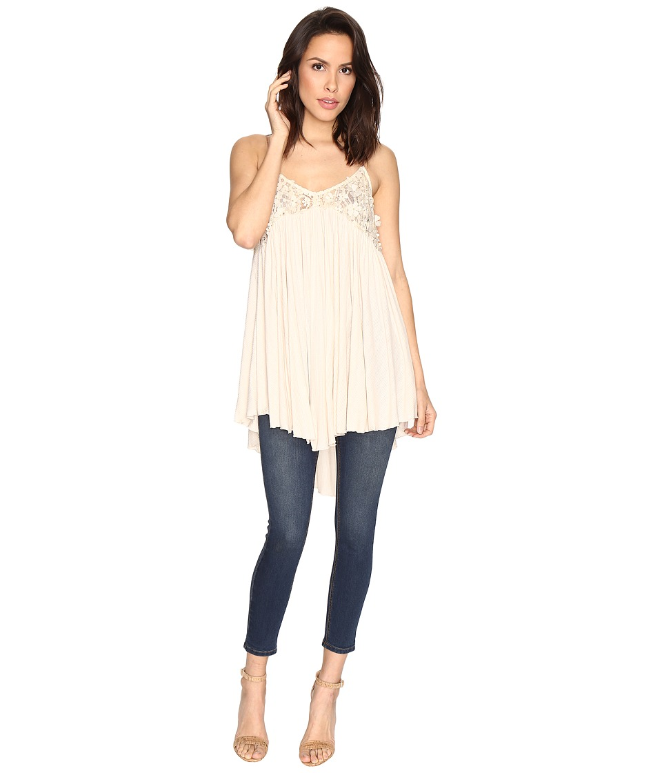Free People - Mad About You Tank Top (Neutral) Women's Sleeveless