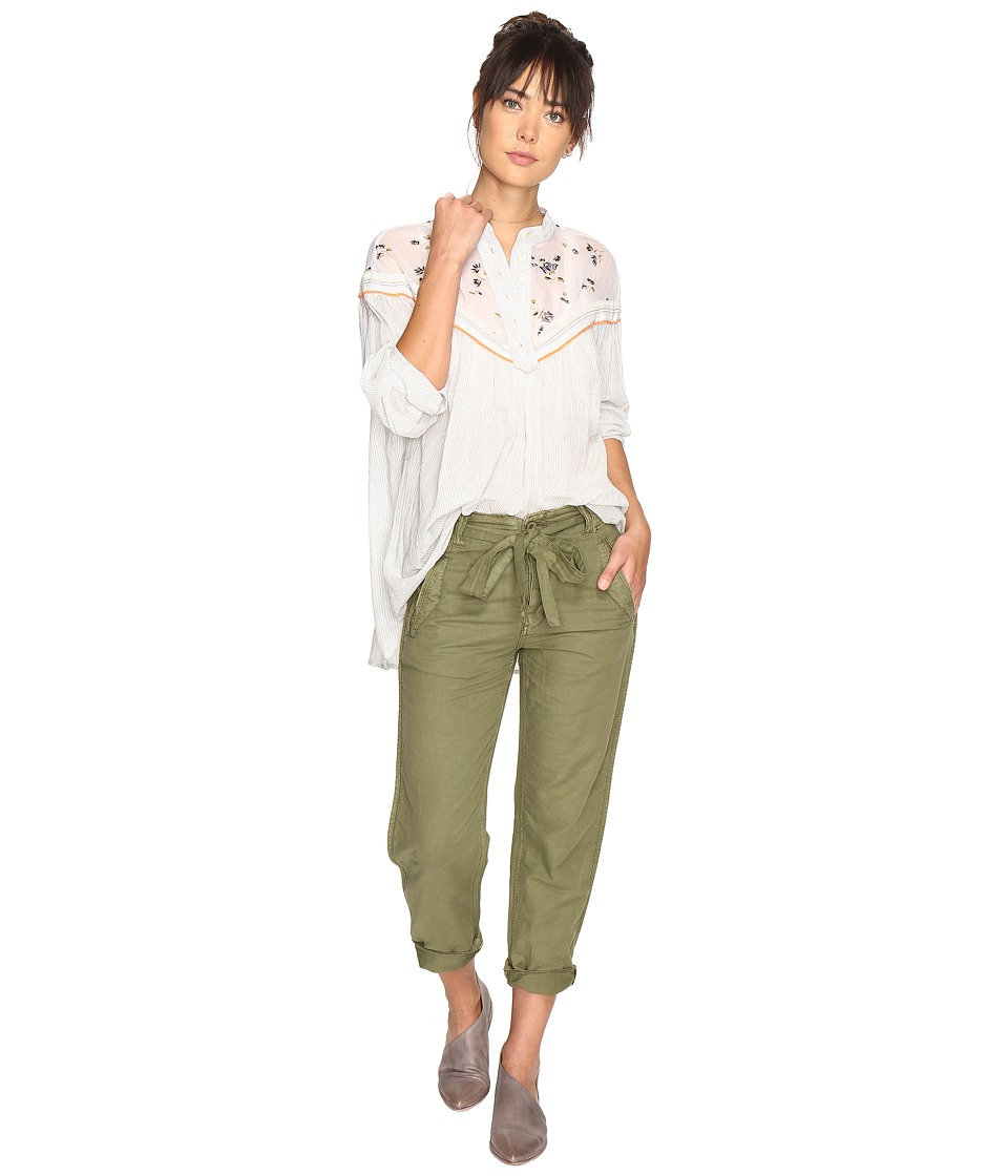 Free People - Hearts and Colors Top (Neutral) Women's Clothing
