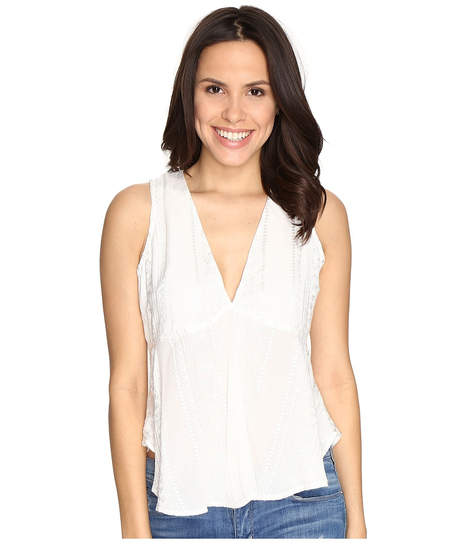 Free People - Twist and Shell Top (Ivory) Women's Clothing