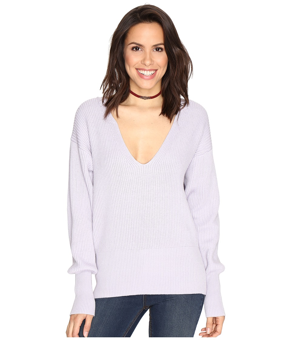 Free People - Allure Pullover (Lavender) Women's Long Sleeve Pullover