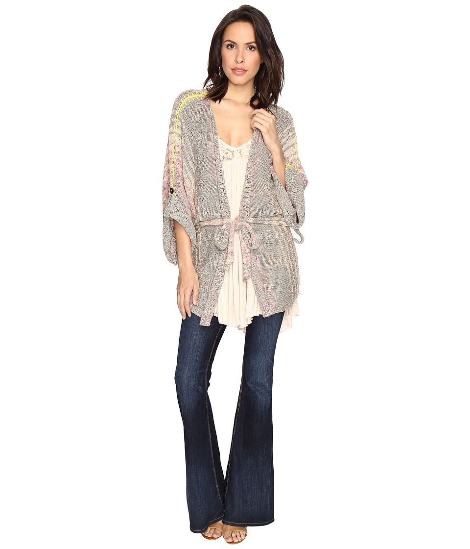 Free People - Sand Art Kimono (Neutral Combo) Women's Clothing