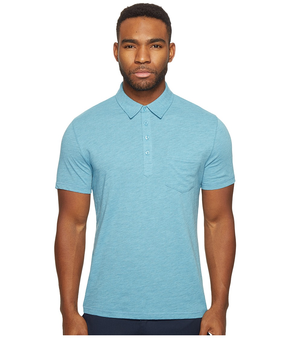 Original Penguin - Bing Polo (Delphinium Blue) Men's Short Sleeve Pullover
