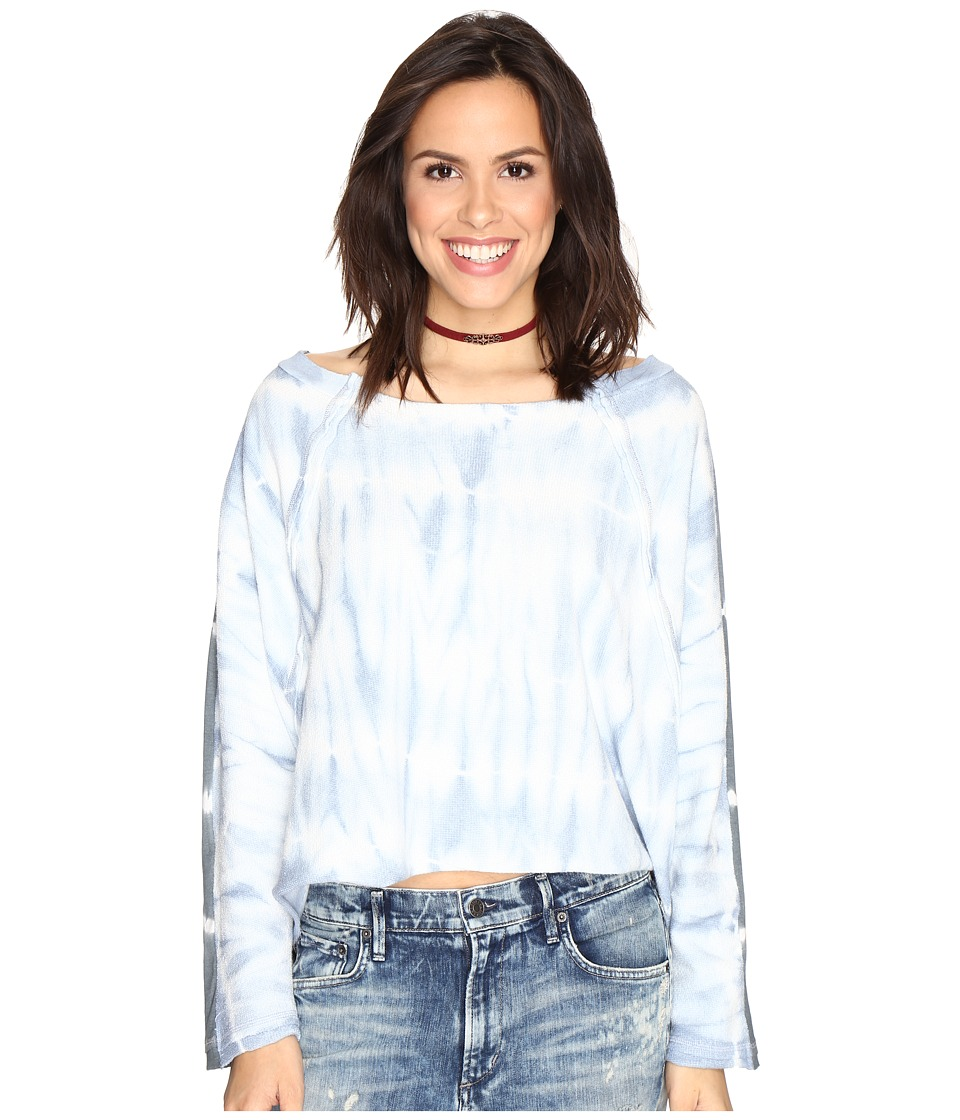 Free People - East Meets West - Tie-Dye (Blue) Women's Clothing