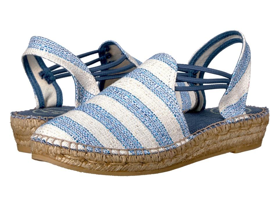 Toni Pons - Noa-Ch (Blue Chia) Women's Shoes