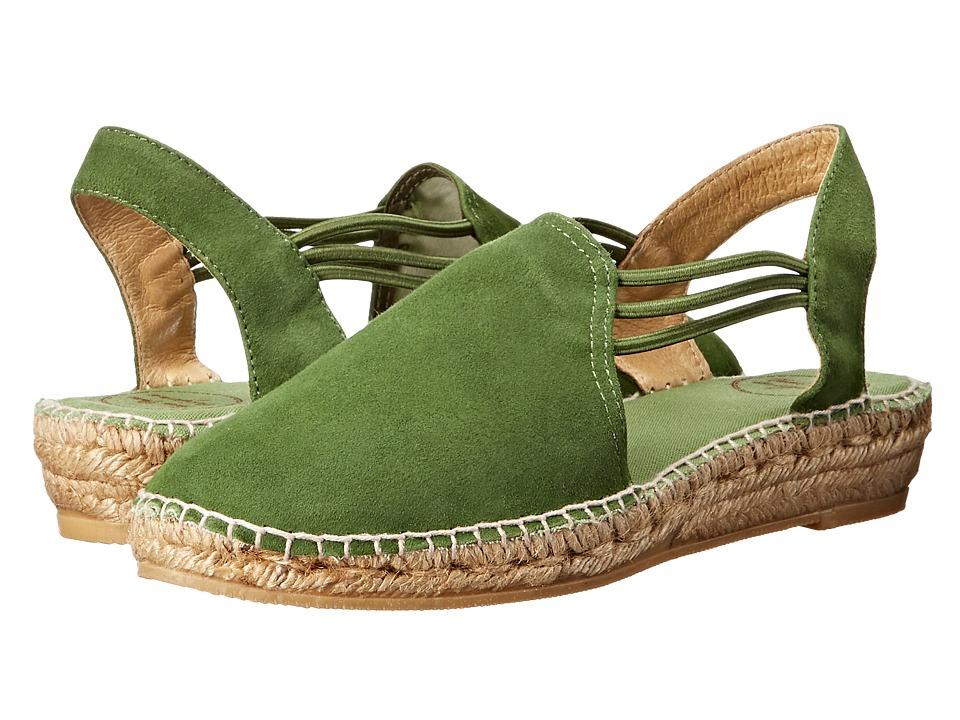 Toni Pons - Nuria (Green Suede) Women's Shoes