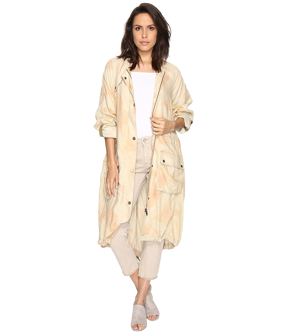 Free People - Lightweight Utility Trench (Peach) Women's Coat