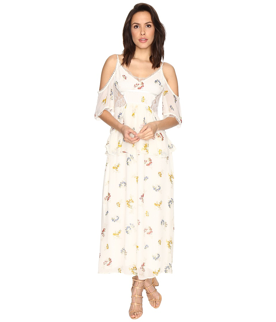 Free People - Magnolia Maxi Dress (Ivory) Women's Dress