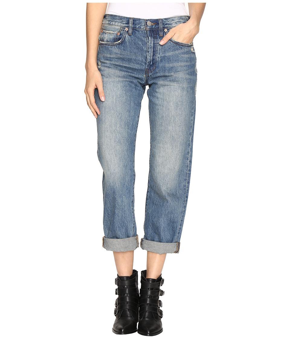 Free People - Universal Boyfriend Jeans in Sky (Sky) Women's Jeans
