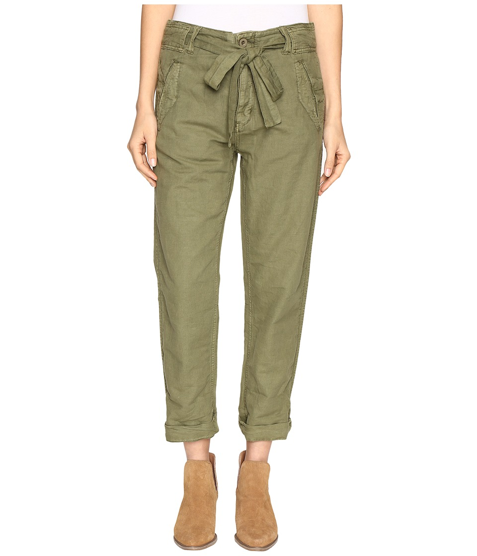 Free People - Universal Boyfriend Pants (Moss) Women's Casual Pants