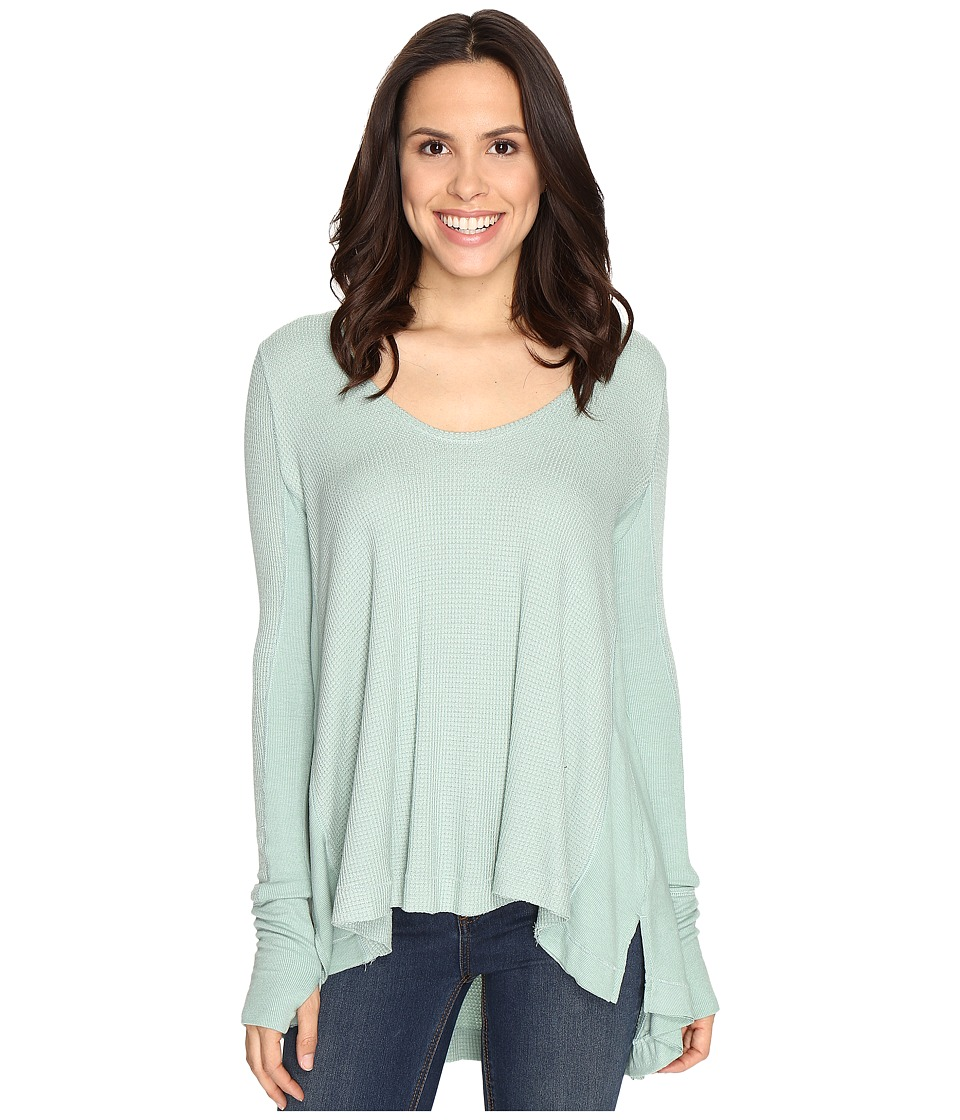Free People - Malibu Thermal (Mint) Women's Clothing