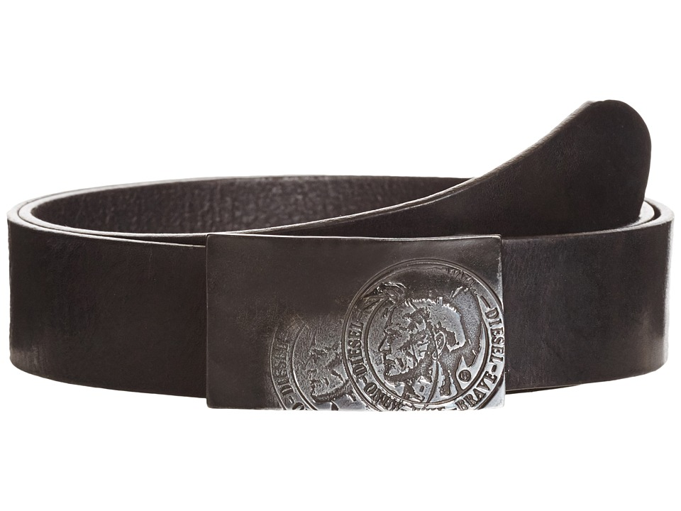 Diesel - B-Warrior - Belt (Black) Men's Belts